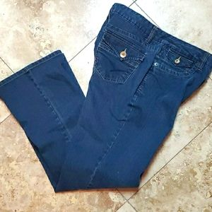 FRENCH CUFF JEANS